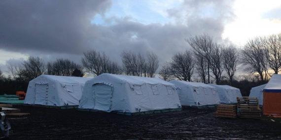 Flygtningelejr